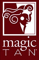 Logo Magic Tan Itaim Bronzeamento Artificial